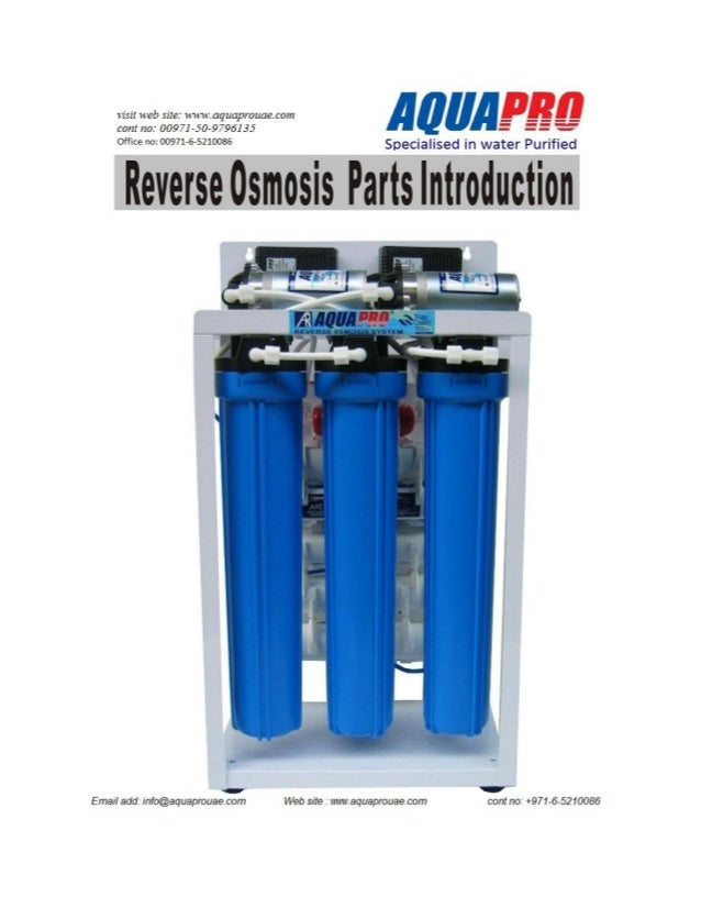 AQUAPRO RO WATER PURIFICATION SYSTEM SALES AND SERVICES