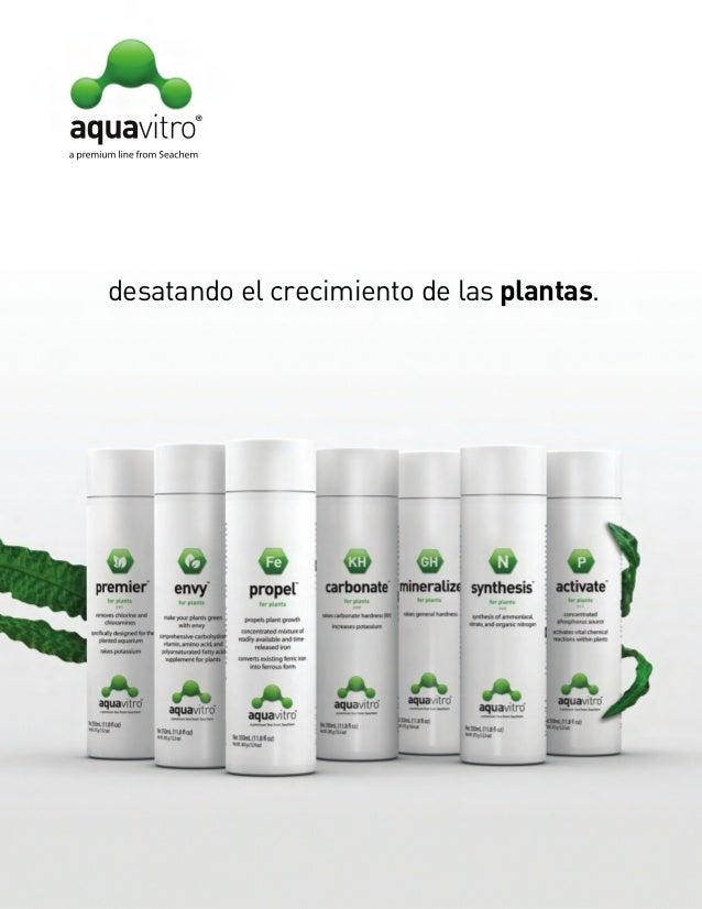 Aquavitro plant book