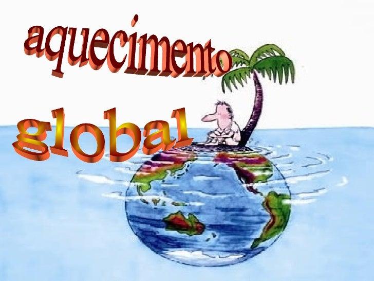 global aquecimento