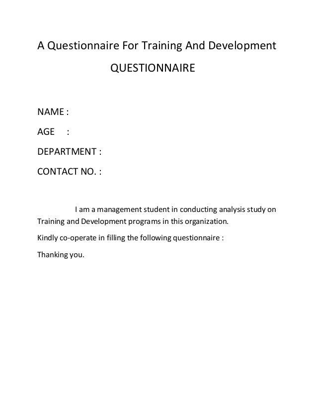 A proposal essay