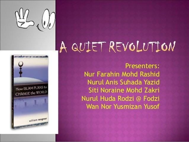 Presenters: Nur Farahin Mohd Rashid  Nurul Anis Suhada Yazid  Siti Noraine Mohd ZakriNurul Huda Rodzi @ Fodzi Wan Nor Yusm...