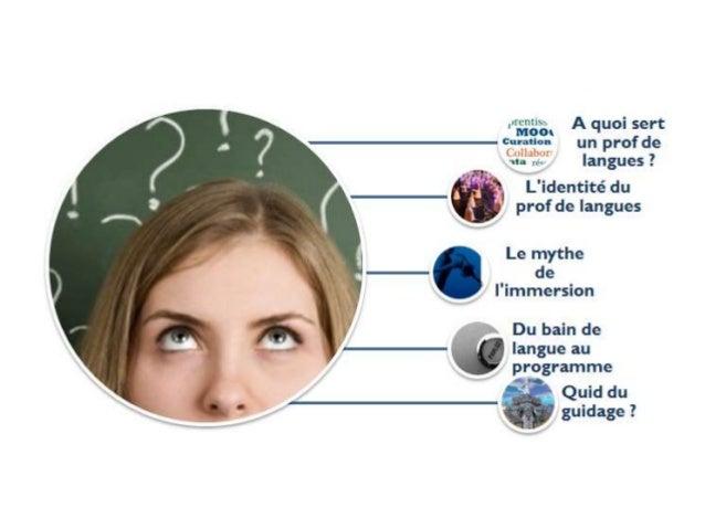 Quelques questions… A quoi sert un prof de langues ? L'identité du prof de langues Le mythe de l'immersion Du bain de lang...
