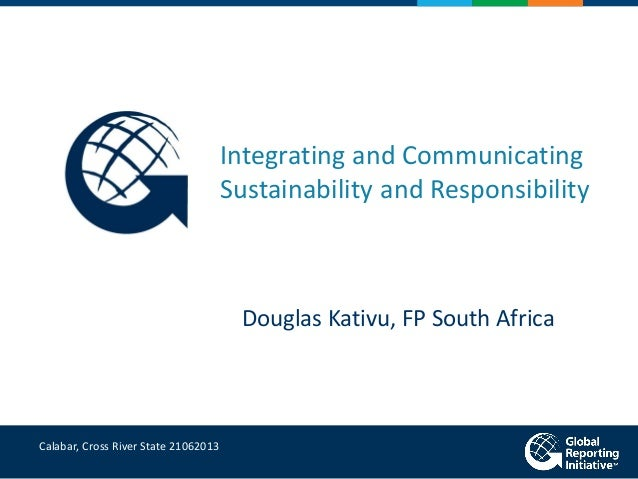 Are Reporting Standards & Guides Really Effective?-Mr. Douglas Kativu