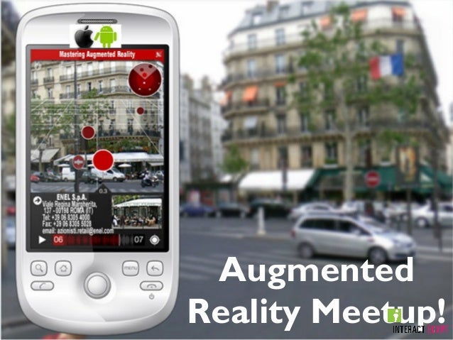 Augmented Reality Meetup!