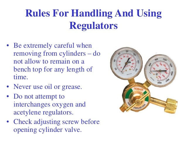 how to use oxy acetylene