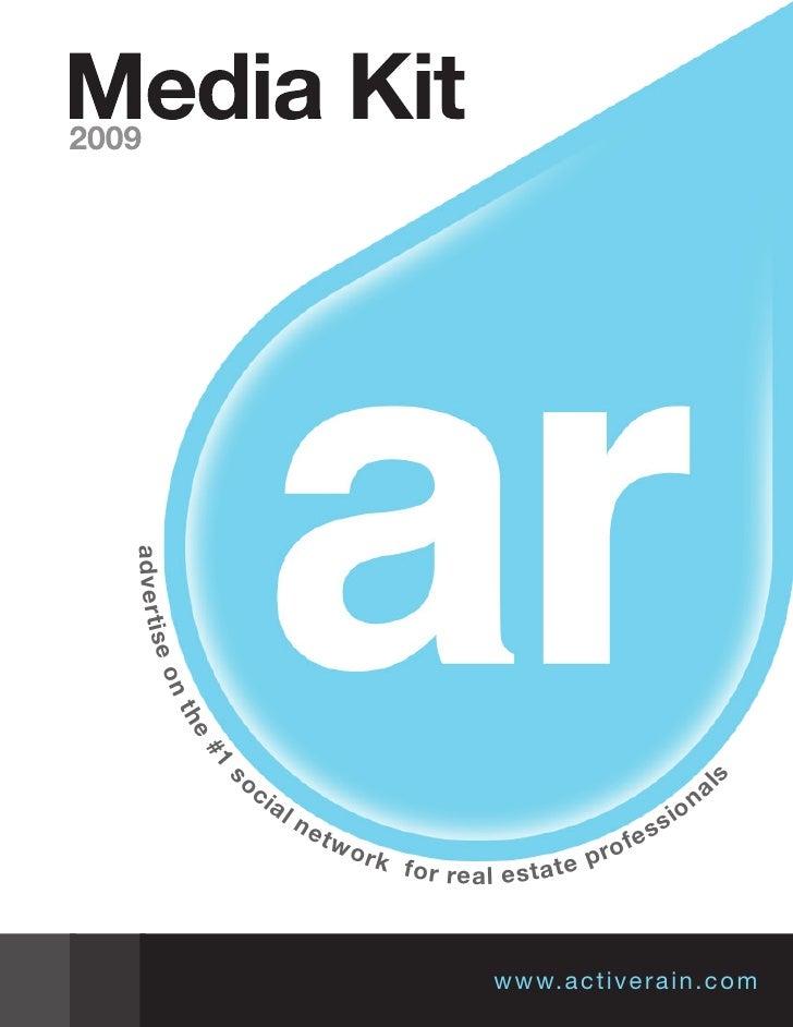 Activerain Media Kit 2009