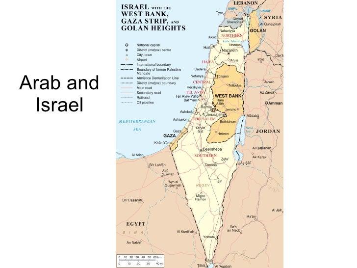 Arab and Israel