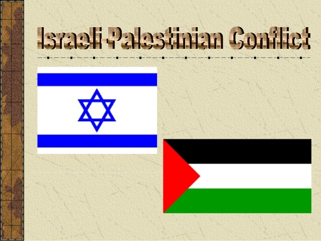 arab-israeli conflict research paper How should we think about the israeli-palestinian conflict  saying that  zionism was and is a colonizing project and israel is a settler state, a colonist   at the ariel center for policy research and frequent contributor to yediot  aharanot.