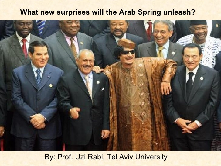 The Arab Spring in Political Cartoons