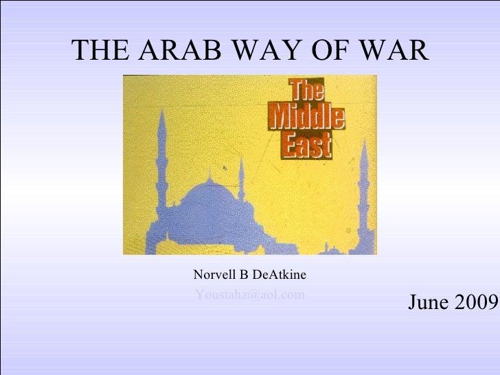 Arab Way Of War 04