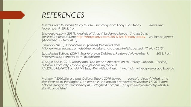 Examples of literary analysis paper