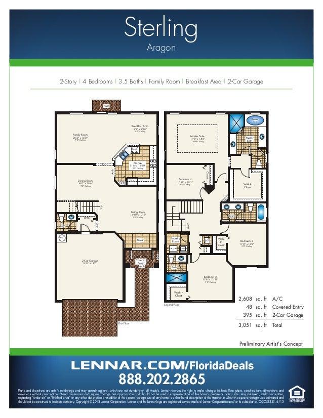 aragon by lennar homes estate home floorplans ryan homes zachary place floor plan house design plans
