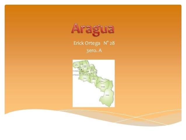 Aragua (Ortega Erick, 3ero. A)