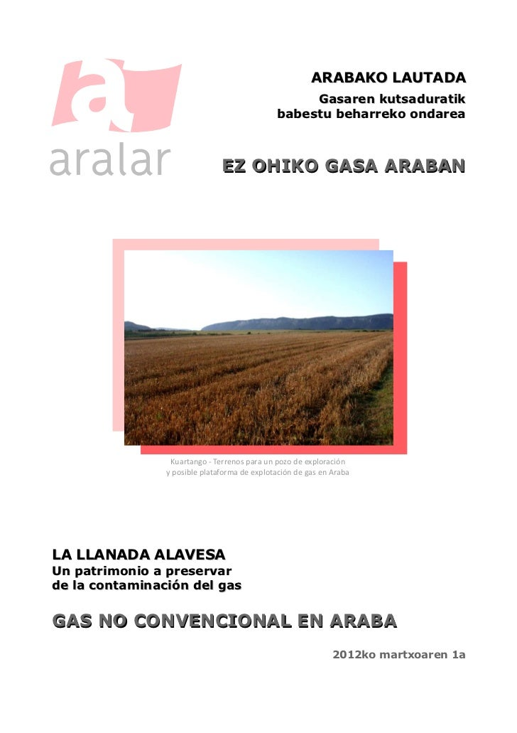 Aralar - Fracking Araban