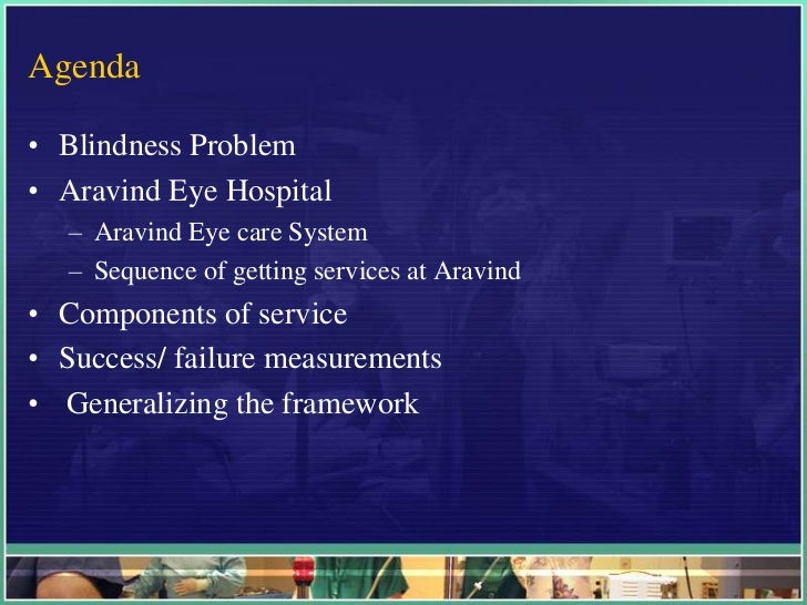 business strategy arvind eye care system How aravind eye care system is abbreviated or is used as part of acronym or abbreviation definition all acronyms has 1 abbreviation for aravind eye care system.