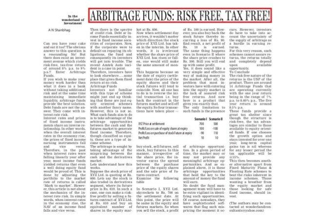 Risk free arbitrage forex