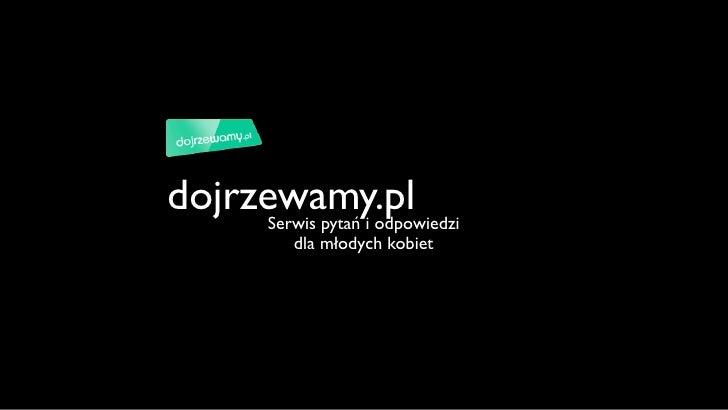 Dojrzewamy.pl - oferta reklamowa