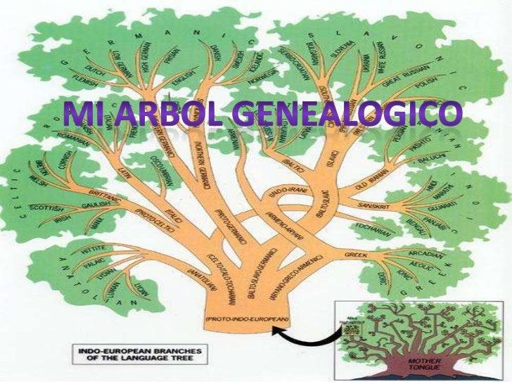 MI ARBOL GENEALOGICO<br />