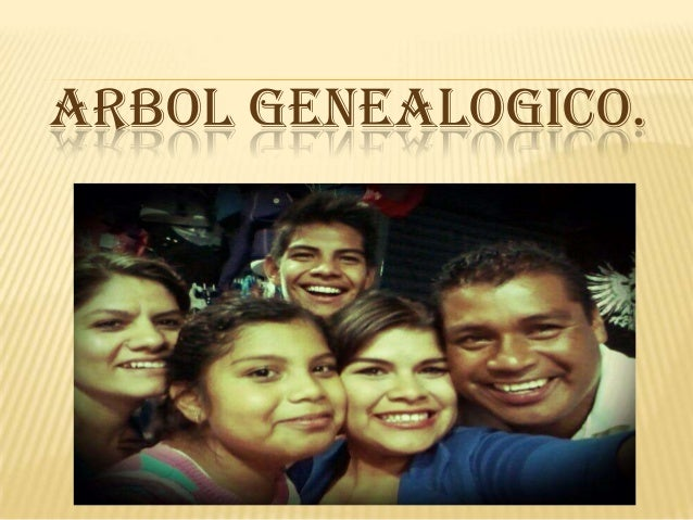 ARBOL GENEALOGICO.
