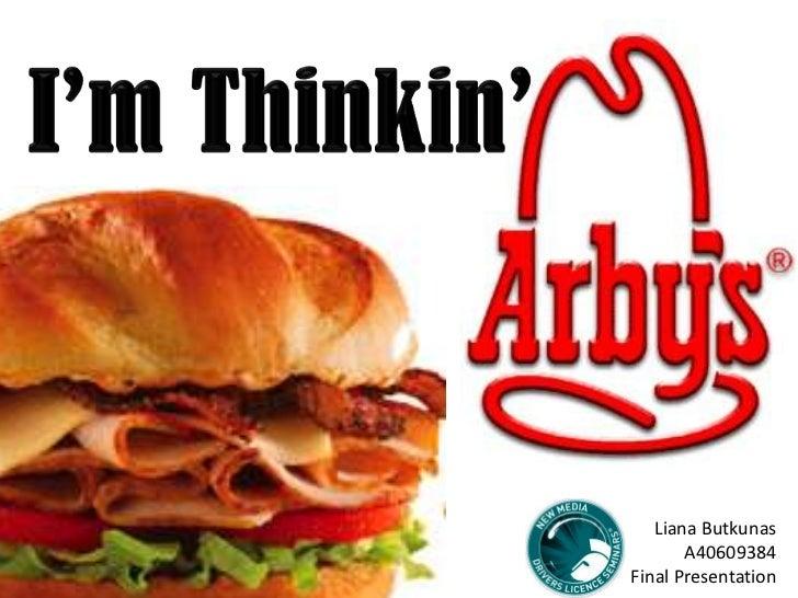 Arby's New Marketing Strategy