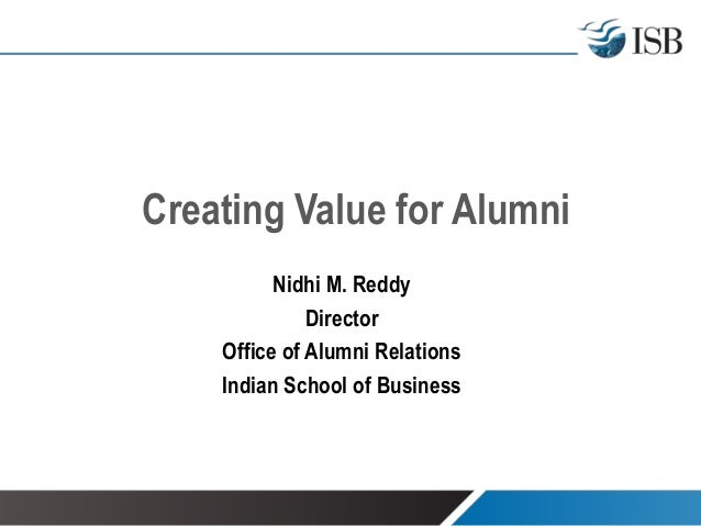 ARC [College] - Creating Value for Alumni Network