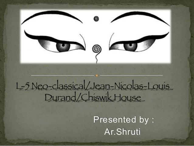 Presented by : Ar.Shruti