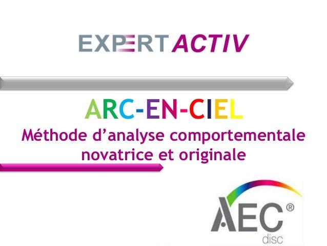 ARC-EN-CIEL Méthode d'analyse comportementale novatrice et originale