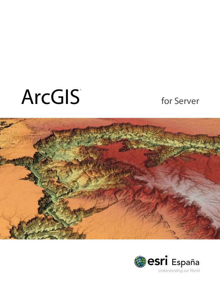ArcGIS for Server (castellano)