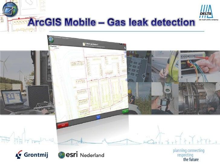ArcGIS Mobile – Gas leak detection<br />