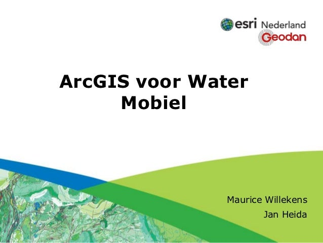 Click to edit Subtitle (optional)       ArcGIS voor Water            Mobiel                                    Maurice Wil...