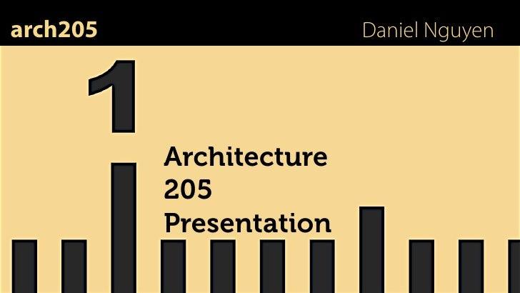 ARCH205 Presentation [1]