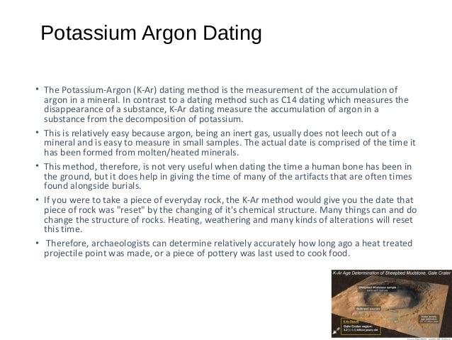 Ano ang radiocarbon dating potassium argon dating