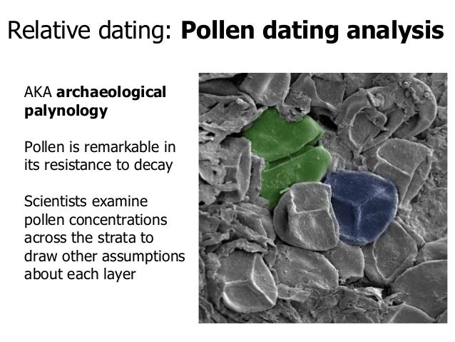 Relative dating is based on the work of who