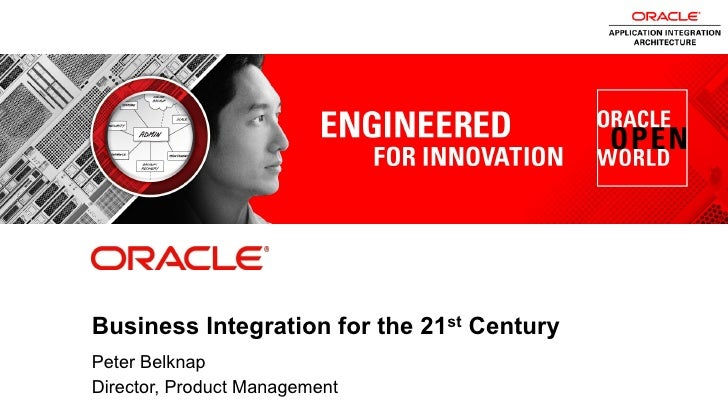 Business Integration for the 21st Century