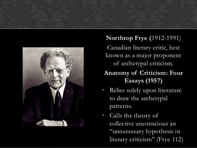 Anatomy of criticism four essays