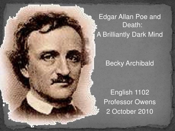 Edgar Allan Poe: A Brilliantly Dark Mind