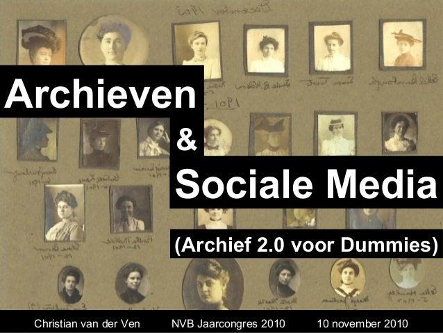 Archieven en Sociale Media