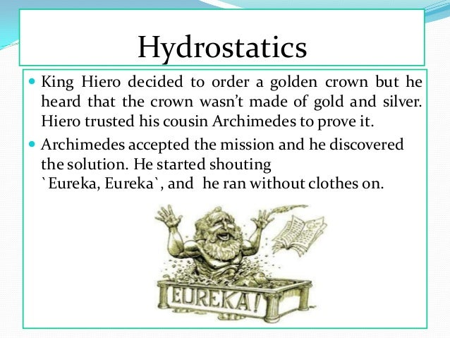 the life and discoveries of archimedes of syracuse Archimedes of syracuse (287–212 bce) was born and lived most of his life in syracuse on the greek island of his discovery of the law of.