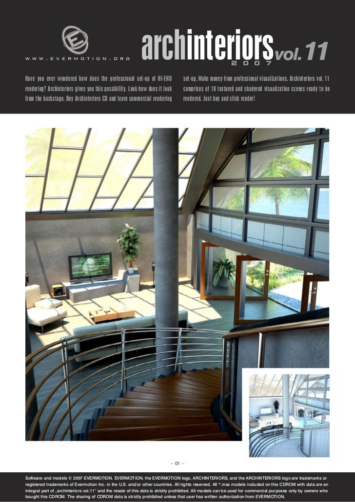 www.evermotion.org                                         archinteriorsvol.11                            2 0 0 7Have you ...