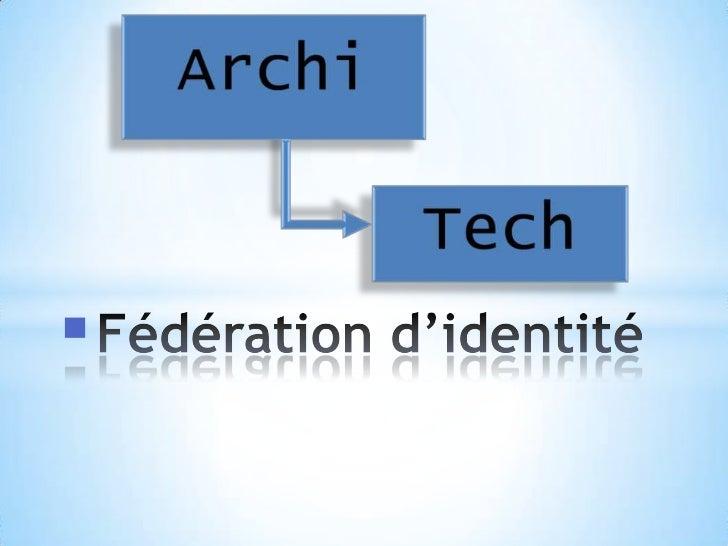 Fédération d'identité<br />