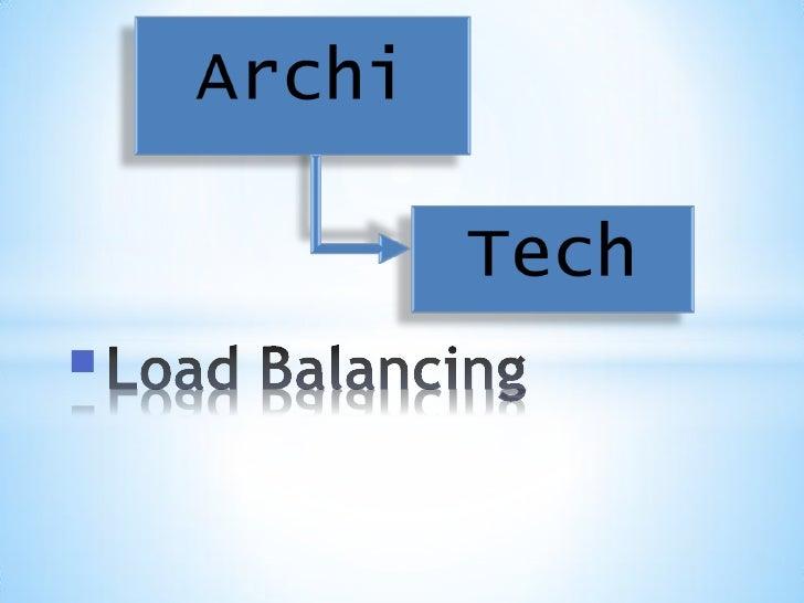 ArchiTech Load Balancing (NLB), Fermes et Jardins