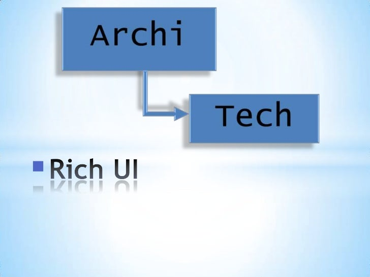 ArchiTech Rich-UI