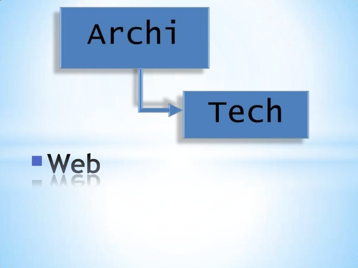 ArchiTech archims web