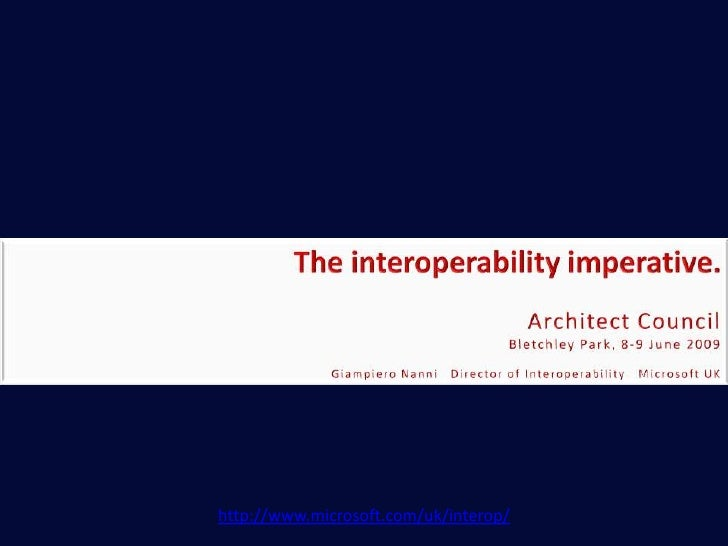 Interoperability @ Microsoft