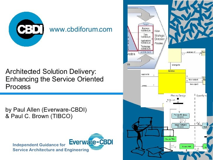 Architected Solution Delivery: Enhancing the Service Oriented Process Independent Guidance for  Service Architecture and E...