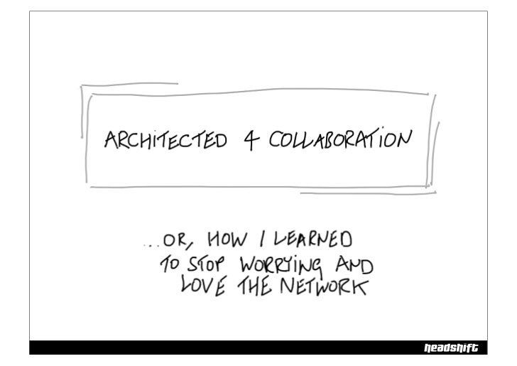 Architected for Collaboration