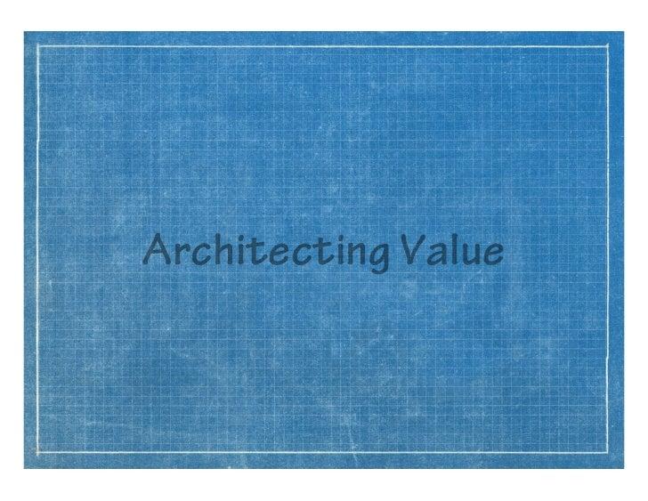 Architecting Value