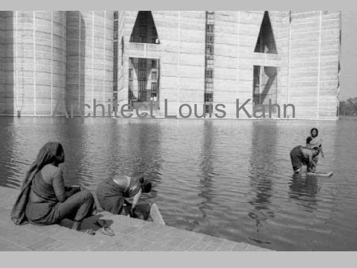 Architect Louis Kahn
