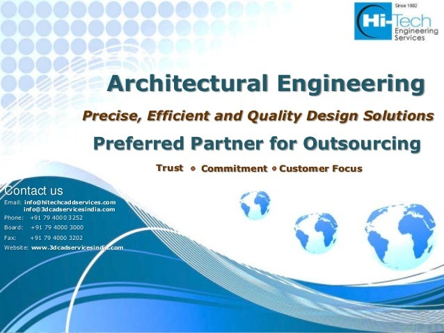 Architectural Engineering                        Precise, Efficient and Quality Design Solutions                          ...