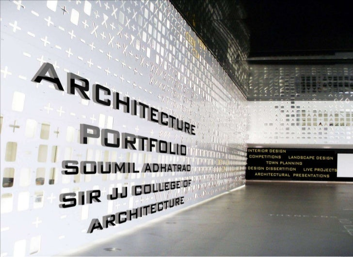 Architectur Design Portfolio